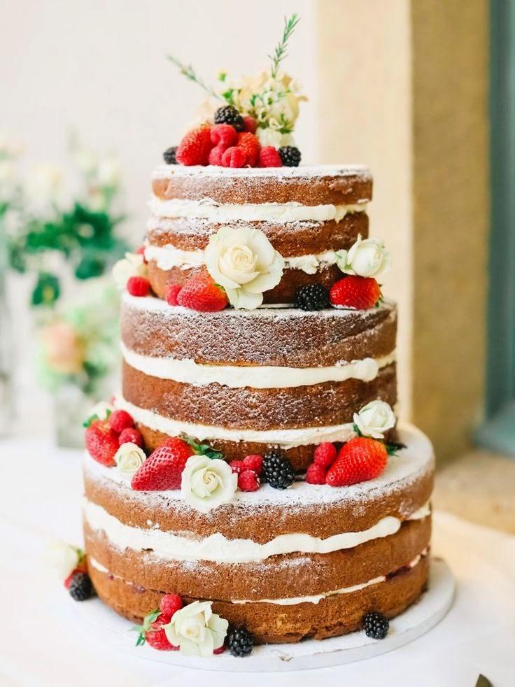 Naked Cakes lo último en repostería fina! - Foro Banquetes
