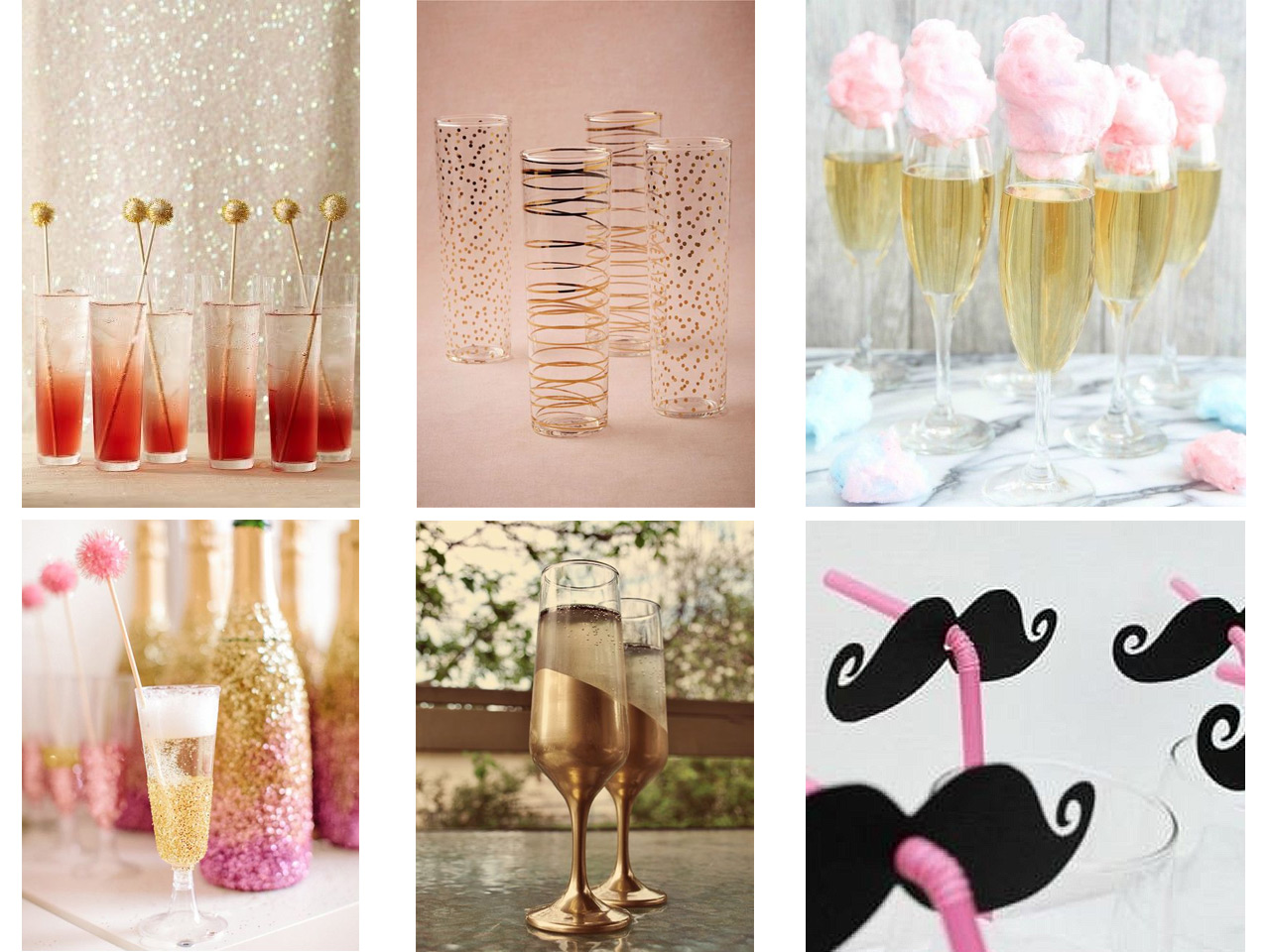 Triunfa con estos tips para decorar tu fiesta de nochevieja - Decoracion mesa nochevieja ...
