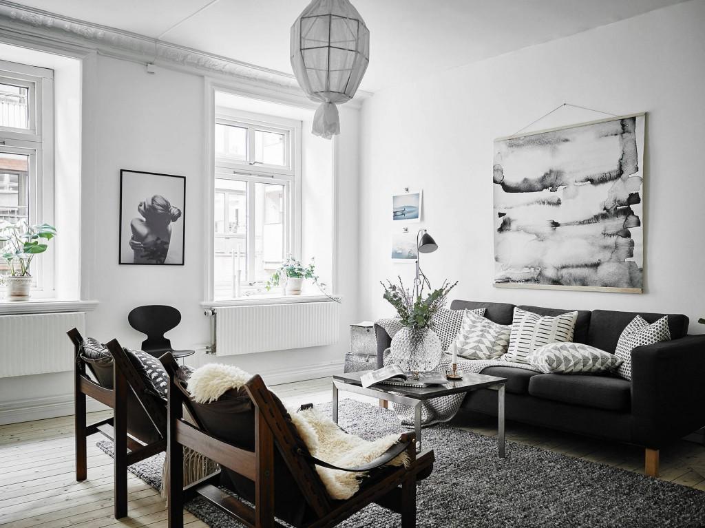 decoración escandinava
