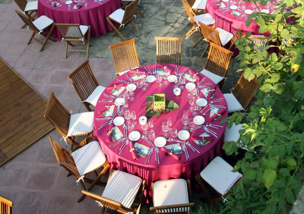 Mesa de verano