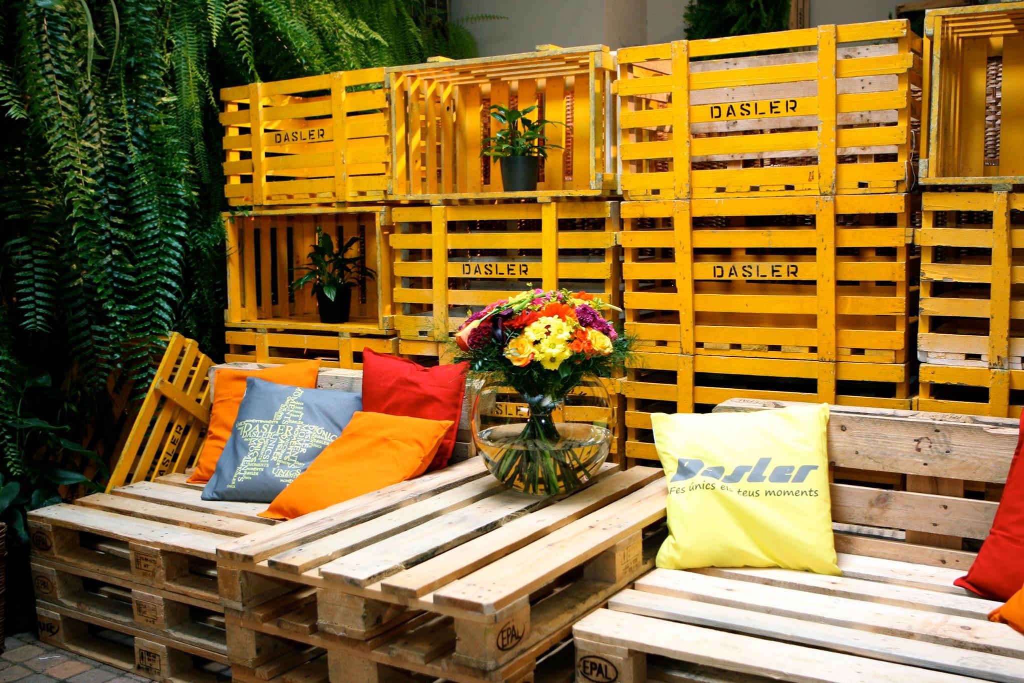 Bodas en el campo decoraci n con madera dasler - Ideas decoracion originales ...